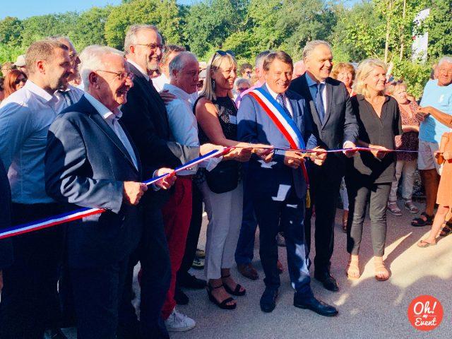 Inauguration Parc des sports Francheville